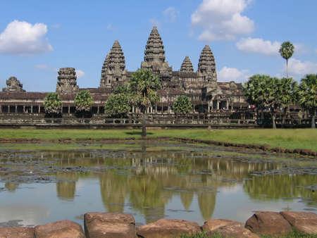 angkor: Medieval temple Angkor Wat in Cambodia