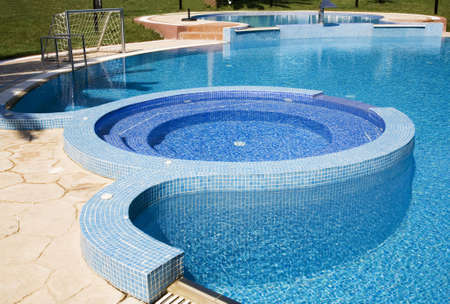 open air: Open air swimming pool in hotel 3