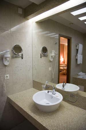 Interior of  modern bath-room