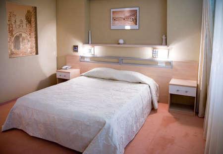 Interior of modern bedroom 3   Stock Photo