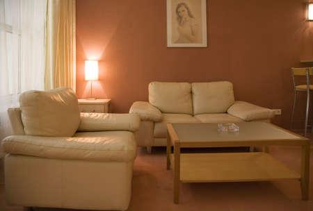 Interior of modern lounge room 5