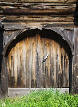 Old fashioned wooden door   Stock Photo - 3225314