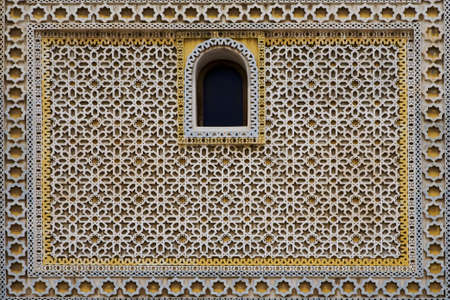 marble palace: Ornamental pattern of Arabian residential construction