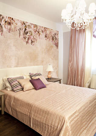 Interior shot of a modern bedroom Stock Photo - 8876714