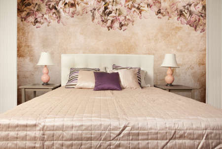 Interior shot of a modern bedroom Stock Photo - 8876711