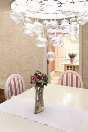 Interior shot of a modern dining room Stock Photo - 12924414