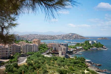 marina water: Kusadasi is a resort town on Turkeys Aegean coast