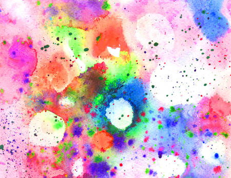 full frame: Full frame illustration of abstract watercolor texture with paint splatter