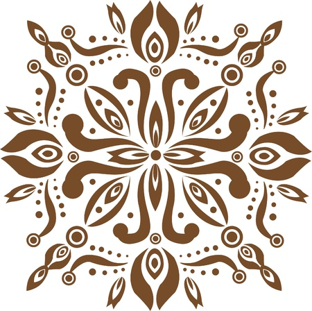 Old Decorative pattern  Vector