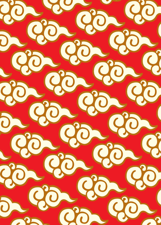 orientalische muster: Klassische orientalische Muster Illustration