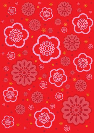 flor de sakura: Sakura Flor Vectores