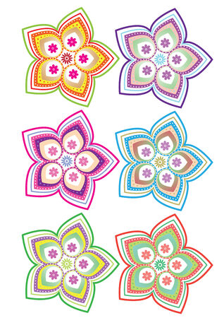 Flower patterns