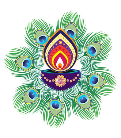 oil lamp: diwali festival