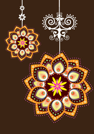 Flower Pattern illustration Vector