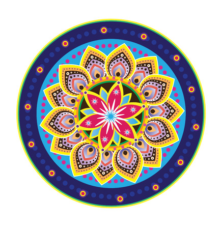 Flower pattern mandala Vector