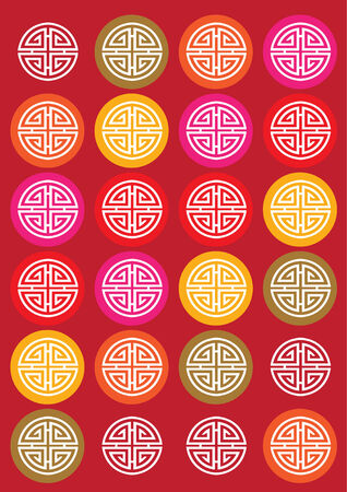 orientalische muster: Klassik Orientalisch Muster Illustration