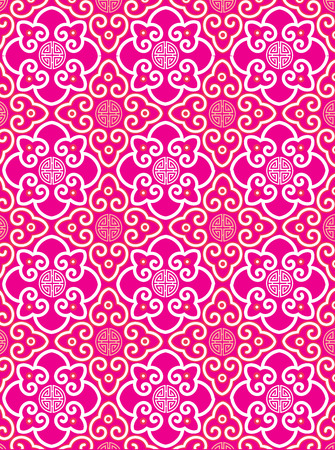 Oriental traditional background pattern design Vector