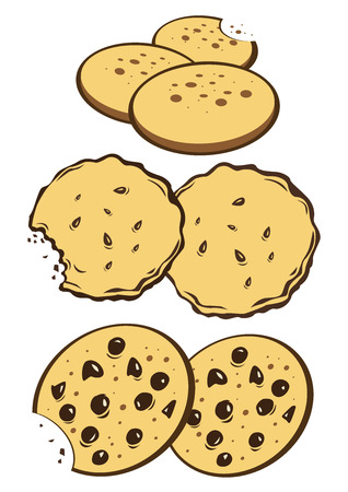 indulgence: Cookies Illustration