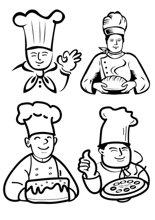 chef and baker