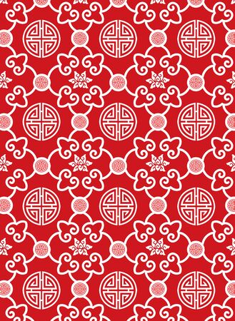 classic style: Classic oriental traditional pattern Illustration