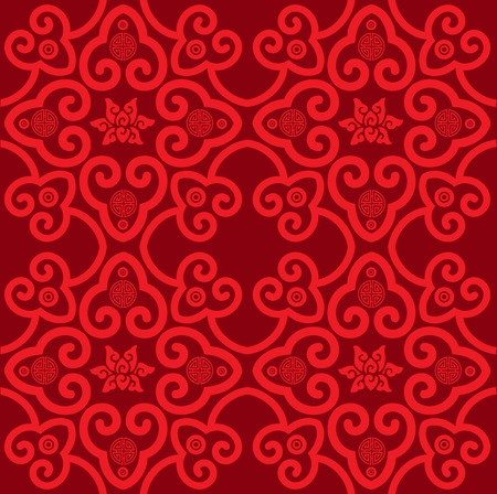 Oriental traditional background pattern design