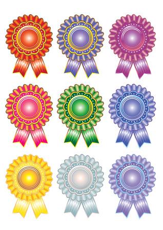 qualify: Rosette Award Set