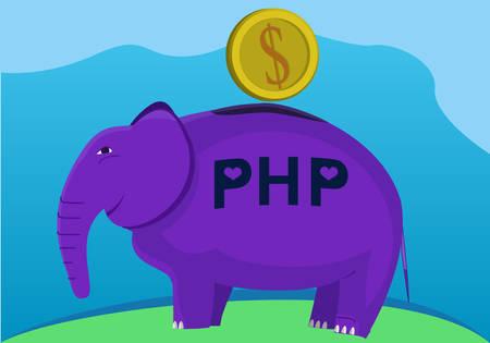 language: programming language conceptual illustration.