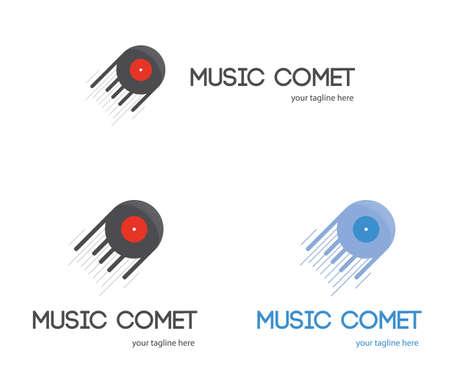 disc jockey: Music and sound production studio design. for disc jockey Illustration