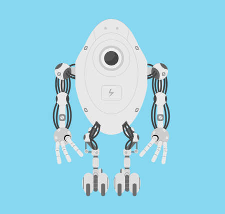 modern: Modern robot vector illustration. Illustration
