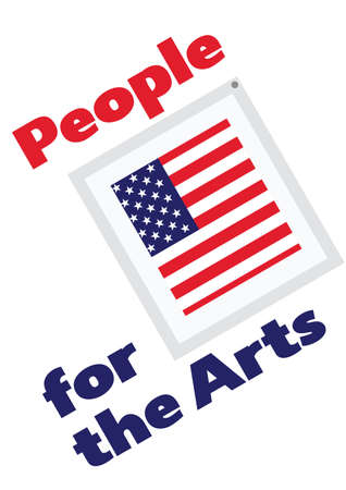 People for the arts vector illustration 向量圖像