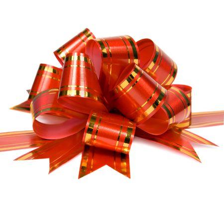 ornamentation: Red bow for ornamentation