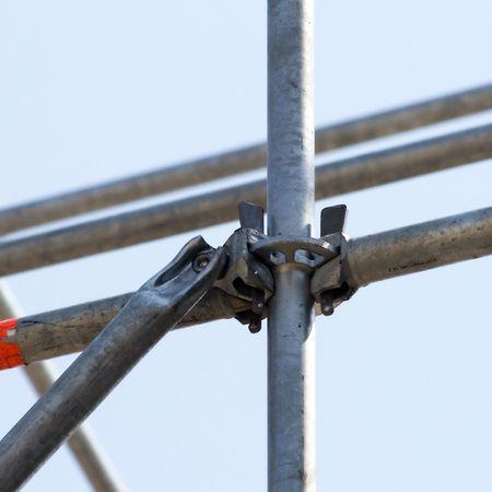 Fixing knot metalware Stock Photo