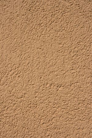 Texture plaster brown color. photo