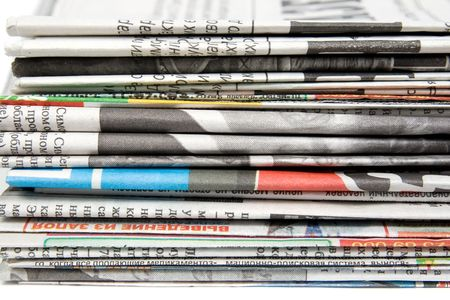 Stack of newspapers Stock Photo - 6342201
