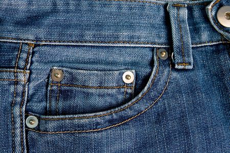 Pockets on jeans  photo