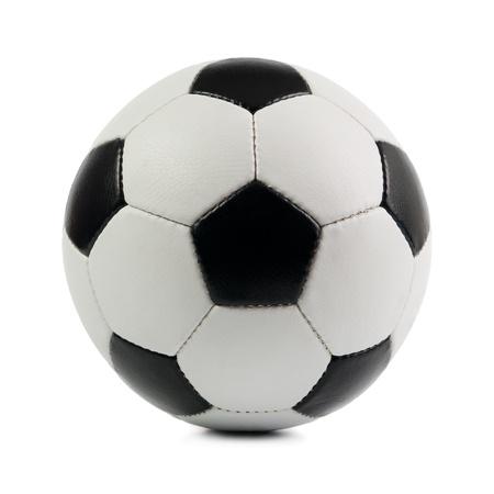 pelota de futbol: F�tbol. Aisladas sobre fondo blanco.