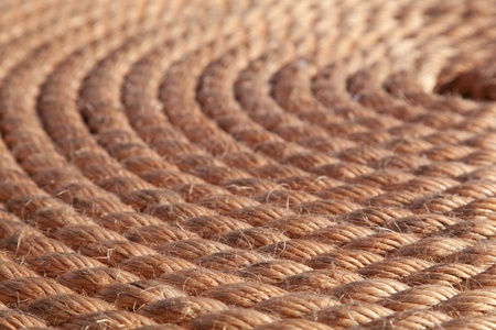 Rope folded helix. Can be used as background  photo