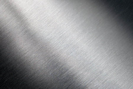 stainless steel sheet: Background of the scratched metal surface Stock Photo