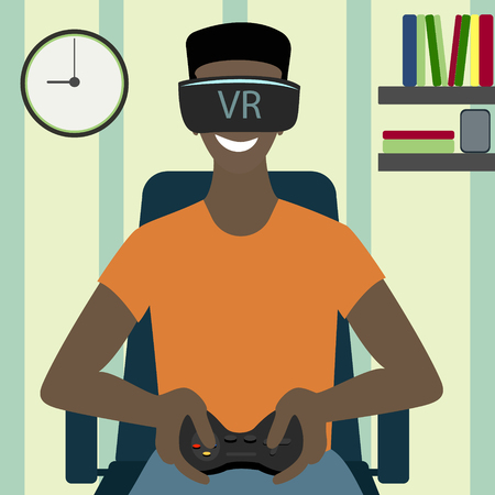 Oculus VR, a virtual glasses, virtual games