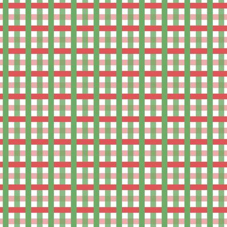 intertwined: the texture seamless , red and green stripes intertwined