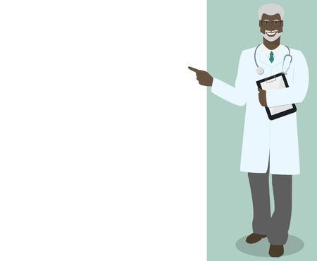 md: MD , Professor , doctor indicates information vector Illustration