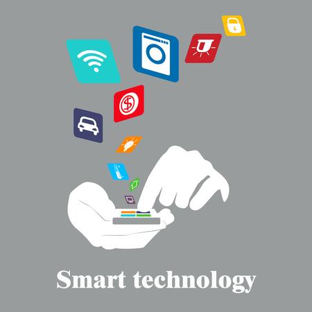 smart: Smart technology . Smart House.