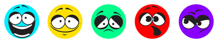 good bad: Smile Icon satisfaction. Feedback in the form of emotion. Feedback from customers. Excellent, good, bad, horrible, discontent