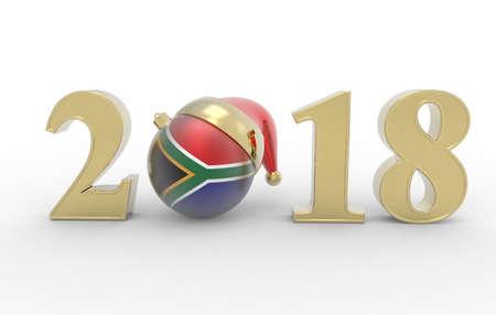 date night: happy new year 2018 Stock Photo