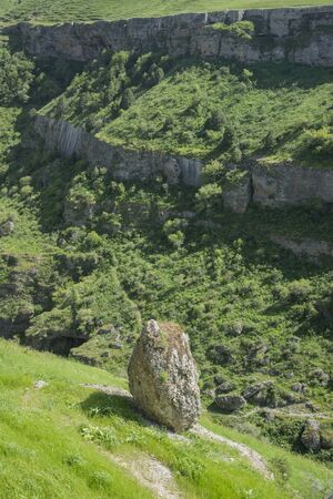 tien shan: Valley in the foothills of the Tien Shan Mountains