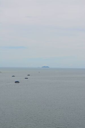 pattaya: Coast Andaman Sea around Pattaya Stock Photo