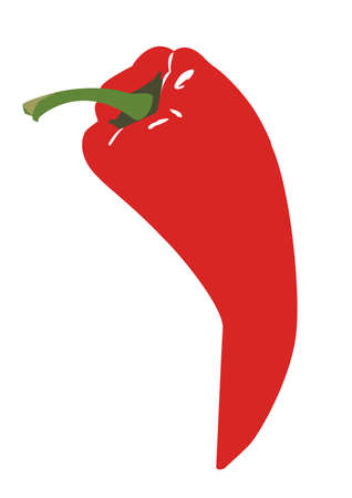 Red Chili Pepper Banque d'images - 4235859
