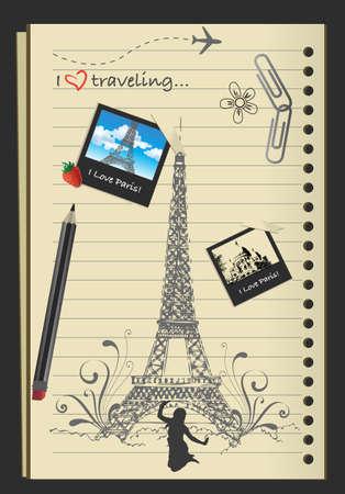 romantic travel: Paris