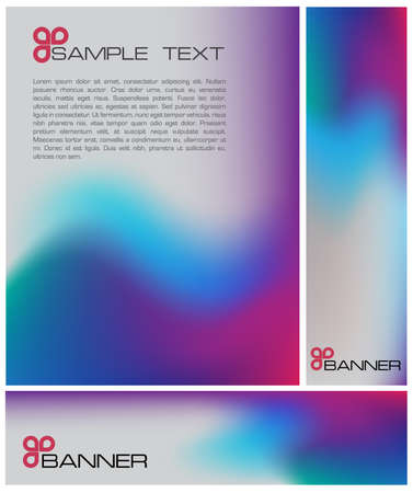 Colorful brochure Stock Vector - 5798040