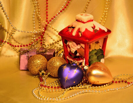 Decoration for Christmas and New Year  photo